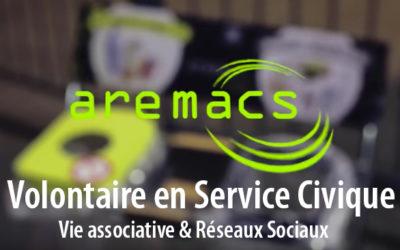 [AREMACS RECRUTE] Volontaire en Service Civique