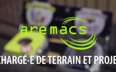 [AREMACS RECRUTE] CHARGÉ·E DE TERRAIN ET PROJET H/F